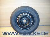 """15"""" Zoll Stahlfelge Felge original 6J ET49 Dunlop Sommer Reifen 195-60-R15 Opel"""