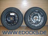"""2x 14"""" Zoll Stahlfelge 5,5J M+S Winter Reifen Firestone 175/65/R14 Combo C Opel"""