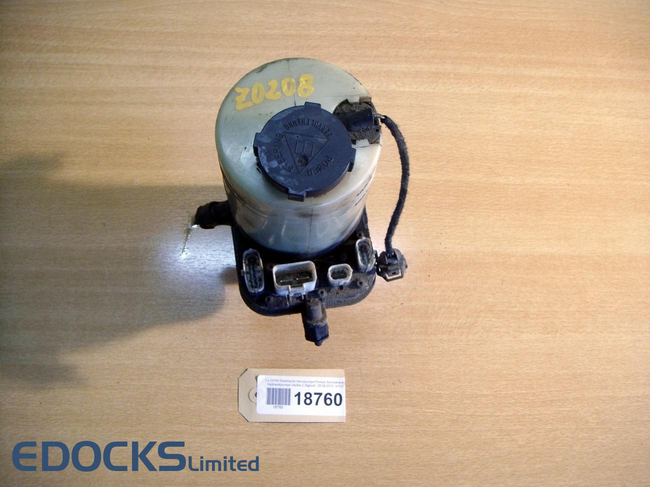 elektrische servopumpe pumpe servolenkung mit sensor vectra c signum opel. Black Bedroom Furniture Sets. Home Design Ideas
