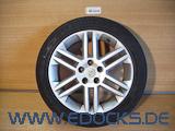 "17"" Zoll Alufelge original Mit Vauxhall Emblem 7J ET41 Vectra C Signum Opel"