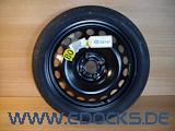 """16"""" Zoll Ersatzrad Notrad Reserverad Neu 4-Loch Astra H Corsa C Adam Opel"""