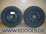 "2x 14"" Zoll Stahlfelge 5,5J M+S Winter Reifen Goodyear 175/65/R14 Combo C Opel"