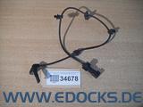 ABS Sensor Drehzahlsensor Hinterachse hinten links rechts Astra J Cascada Opel