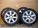 """16"""" Zoll Alufelgen 7J ET40 M+S Winter Reifen 205/55/R16 Signum Vectra C Opel"""