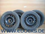 """16"""" Zoll Stahlfelgen 6,5J ET41 M+S Winter Reifen Michelin Alpin 205/55/R16 Opel"""