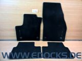 4x Fussmatten Satz vorne hinten original schwarz Velour Meriva B Opel