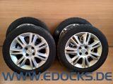 "16"" Zoll originale Alufelgen 6J ET40 4x100 Winter Reifen 195/55/R16 Corsa D Opel"
